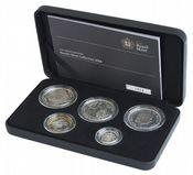 2008 5 x Coin Silver Proof Family Collection